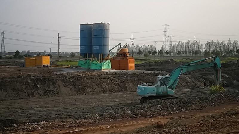 in situ soil remediation,in situ remediation,soil mixing remediation